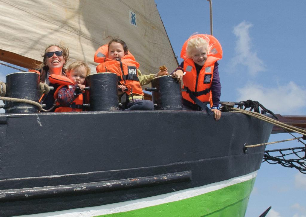 Kindvriendelijk Meezeilen Waddenzee @Gouden Vloot Zeilreizen