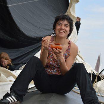Lizzy@ Gouden Vloot Zeilreizen