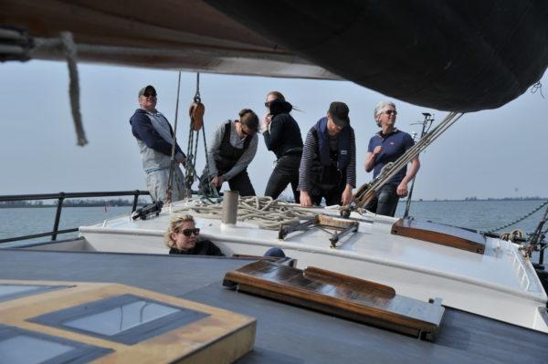 Meezeilen groep @Gouden Vloot Zeilreizen