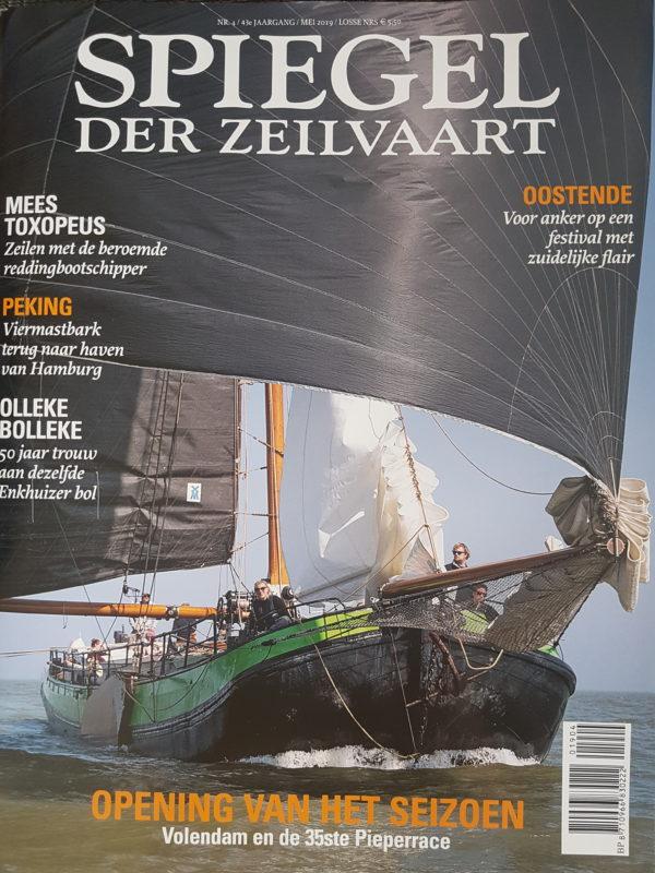 Spiegel der zeevaart Overwinning Zeilen @Gouden Vloot Zeilreizen