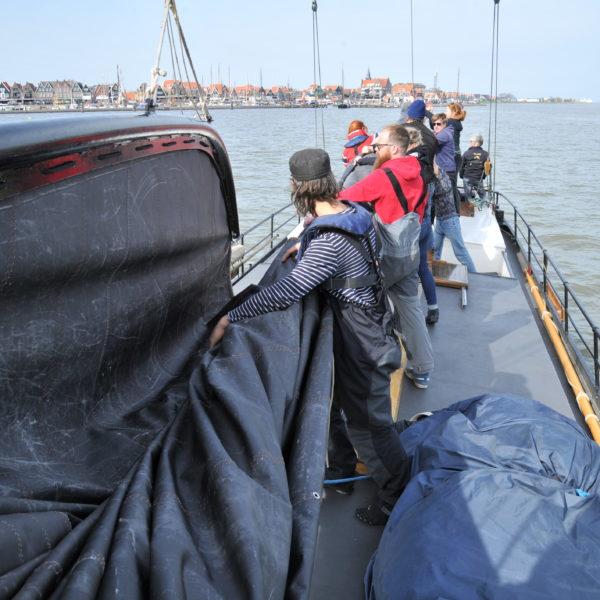 Meezeilen groep IJsselmeer @Gouden Vloot Zeilreizen