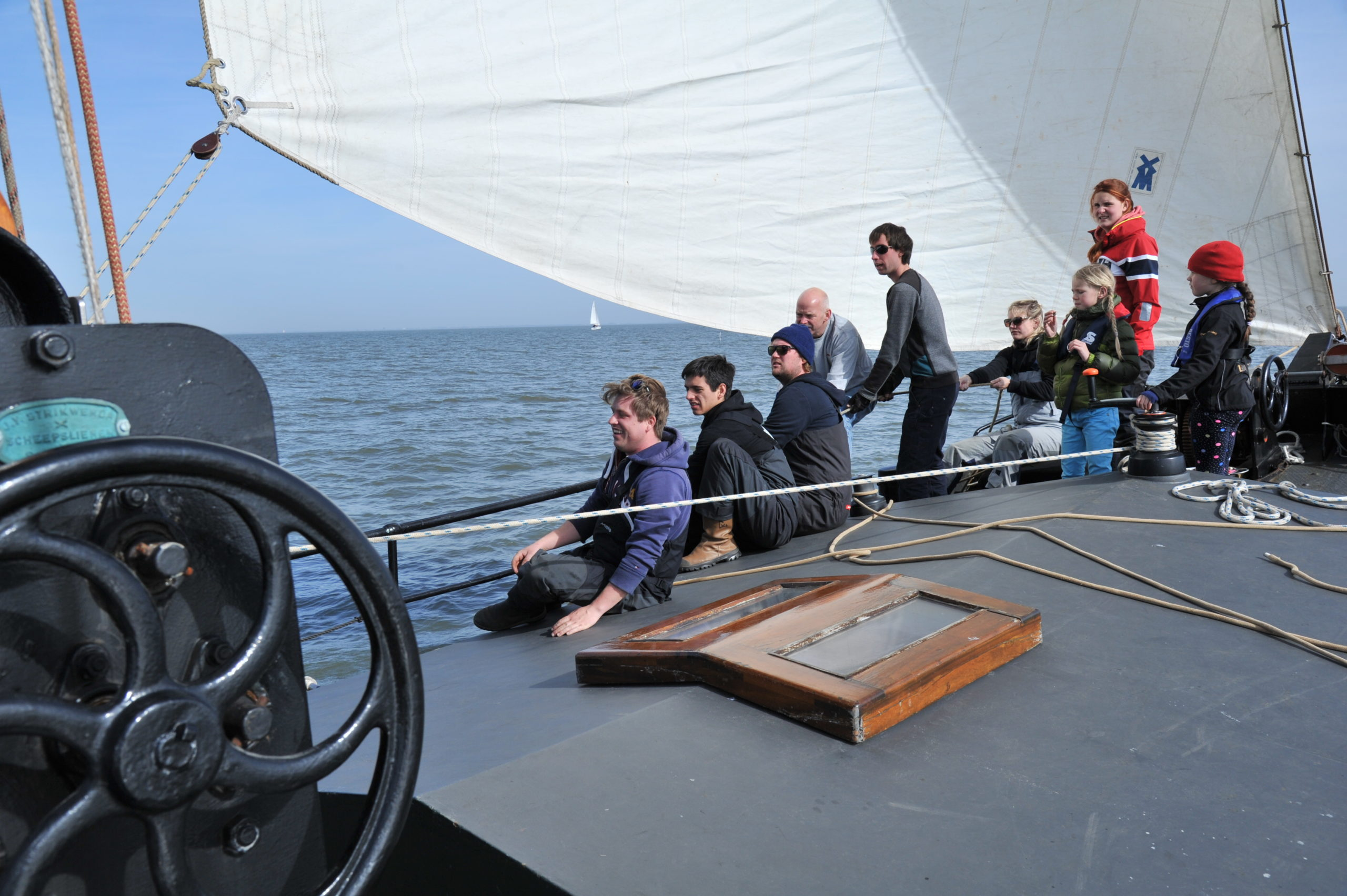 meezeilen Waddenzee @Gouden Vloot Zeilreizen