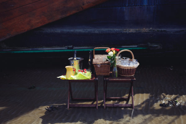 Trouwen op zandbank Wad @Gouden Vloot Zeilreizen