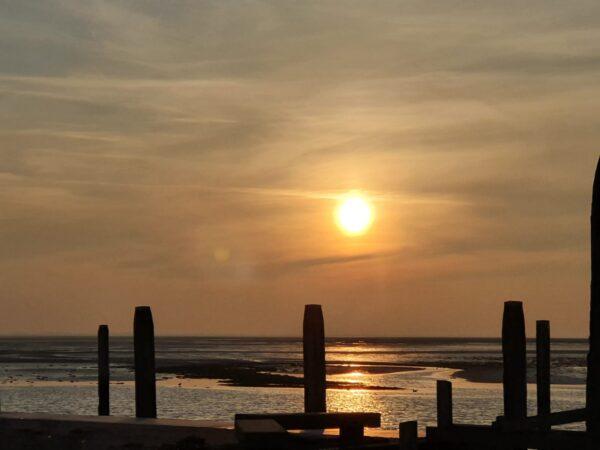 Zonsondergang@Gouden Vloot zeilreizen